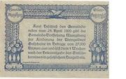10 Heller (Manglburg) – reverse