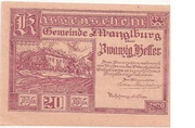 20 Heller (Manglburg) – obverse