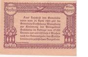 20 Heller (Manglburg) – reverse