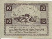 10 Heller (Mank) -  reverse