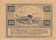 20 Heller (Mank) – reverse