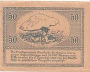 50 Heller (Mank) – reverse