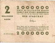 2,000,000 Mark – obverse