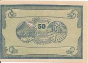 50 Heller (Manning) -  obverse