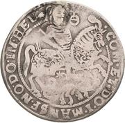 ¼ Thaler - Volrat VI., Jobst II. and Wolfgang III. – reverse
