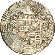 1 Thaler - Philipp Ernst (Spruchtaler) – reverse