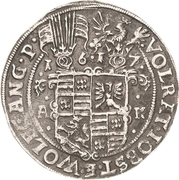 ½ Thaler - Volrat VI., Jobst II. and Wolfgang III. – obverse