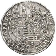1 Thaler - Volrat VI, Jobst II and Wolfgang III – obverse