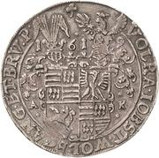 1 Thaler - Volrat VI, Jobst II, Wolgang III and Bruno III – obverse