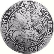 1 Thaler - Volrat VI, Jobst II, Wolfgang III and Bruno III – reverse