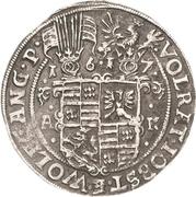 ½ Thaler - Volrat VI., Jobst II. und Wolfgang III. – obverse
