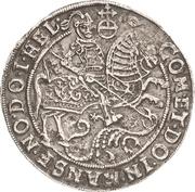 ½ Thaler - Volrat VI., Jobst II. und Wolfgang III. – reverse
