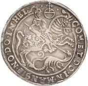 1 Thaler - Volrat VI, Jobst II, Wolgang III and Bruno III – reverse