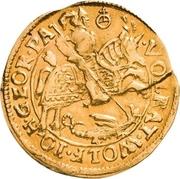 1 Goldgulden - Volrat VI., Wolfgang III. und Johann Georg II. – obverse