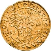 1 Goldgulden - Volrat VI., Wolfgang III. und Johann Georg II. – reverse