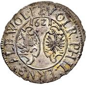 12 Kreuzer - Volrat VI., Philipp Ernst und Albrecht Wolff (Kipper) – obverse