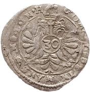 30 Kreuzer - Volrat VI., Philipp Ernst, Albrecht Wolff – reverse