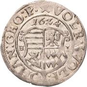 1 Groschen - Volrat VI., Wolfgang III. and Johann Georg – obverse