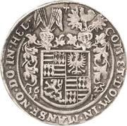 ½ Thaler - Volrat VI., Wolfgang III. and Johann Georg – reverse