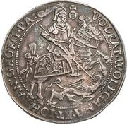 ¼ Thaler - Volrat VI., Wolfgang III. and Johann Georg II. – obverse