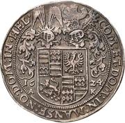 ¼ Thaler - Volrat VI., Wolfgang III. and Johann Georg II. – reverse