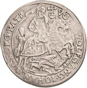 ½ Thaler - Volrat VI, Wolfgang III and Johann Georg – obverse