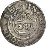 1 Groschen - Volrat VI., Wolfgang III. and Johann Georg II. (Zwittergroschen) – reverse