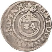 1 Groschen - Philipp Ernst, Wolfgang III. and Johann Georg II. – reverse