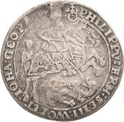 ½ Thaler - Philipp Ernst, Wolfgang III and Johann Georg II – obverse