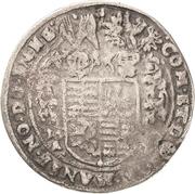 ½ Thaler - Philipp Ernst, Wolfgang III and Johann Georg II – reverse