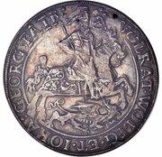 2 Thaler - Volrat VI, Wolfgang III and Johann Georg II – obverse