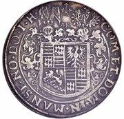 2 Thaler - Volrat VI, Wolfgang III and Johann Georg II – reverse