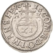 1/21 Thaler - Volrat VI., Jobst II. and Wolfgang III. – reverse