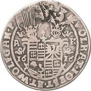 ¼ Thaler - Volrat VI., Jobst II. and Wolfgang III. – obverse