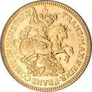 1 Ducat - Franz Maximilian & Heinrich Franz – obverse