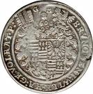 1 Thaler - Bruno II, Wilhelm I, Johann Georg IV, & Volrat VI – obverse