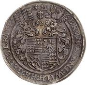 ½ Thaler - Bruno II., Wilhelm I. Johann Georg IV. and Volrath VI. – obverse