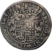 ¼ Thaler - Bruno, Wilhelm, Johann Georg, Volrath and Jobst – obverse