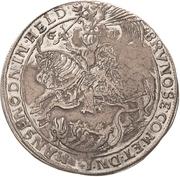 ½ Thaler - Bruno II. (Death) – obverse