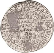 ½ Thaler - Bruno II. (Death) – reverse