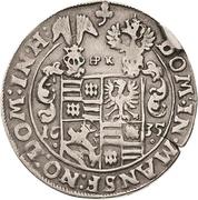 ¼ Thaler - Wolfgang III. and Johann Georg II. – reverse