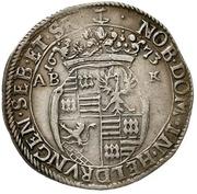 ⅓ Thaler - Franz Maximilian and Franz Heinrich – reverse