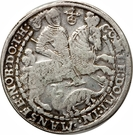 1 Thaler - Bruno II, Wilhelm I, Johann Georg IV, & Volrat VI – reverse