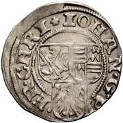 1 Groschen - Johan Georg II – obverse