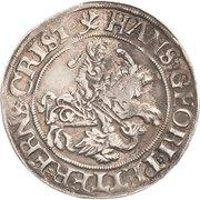 ¼ Thaler - Johann Georg I., Peter Ernst I. and Christoph II. – obverse