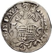 1 Groschen - Johan Georg II – reverse