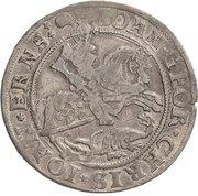 ¼ Thaler - Johann Georg I., Christoph II. and Johann Ernst – obverse