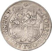 ¼ Thaler - Johann Georg I., Christoph II. and Johann Ernst – reverse
