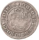 ¼ Thaler - Johann Georg I., Peter Ernst I. and Johann Hoyer III. – reverse