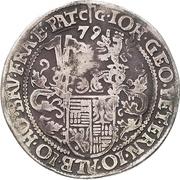¼ Thaler - Johann Georg, Peter Ernst, Johann Albrecht, Johann Hoyer and Bruno – obverse